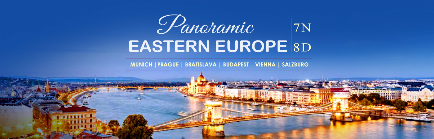 Panoramic Eastern Europe